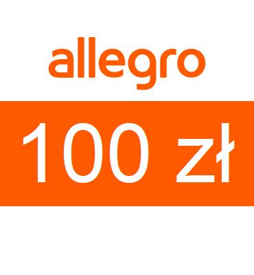 zdjęcie Karta podarunkowa Allegro o wartości 100zł
