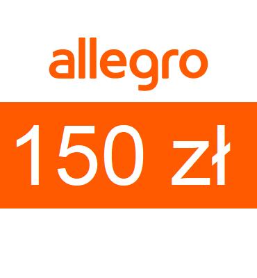 zdjęcie Karta podarunkowa Allegro o wartości 150zł