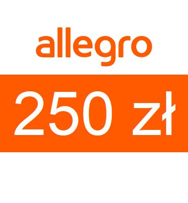 zdjęcie                      Karta podarunkowa Allegro o wartości 250zł