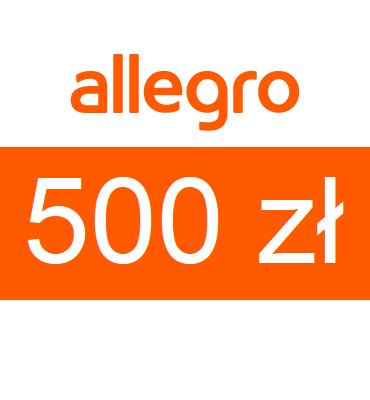 zdjęcie Karta podarunkowa Allegro o wartości 500zł