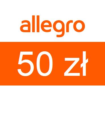 zdjęcie Karta podarunkowa Allegro o wartości 50zł