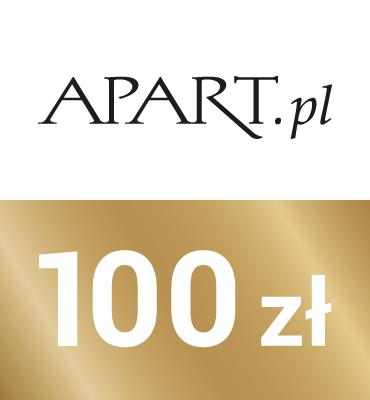 zdjęcie                      Elektroniczny kod upominkowy  APART 100zł