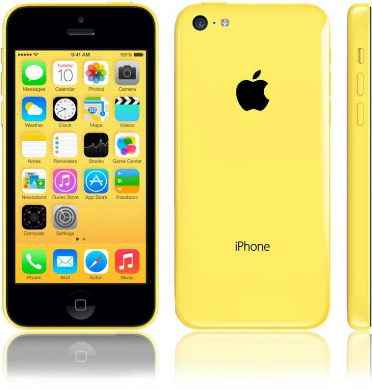 iPhone 5C 16GB Żółty (Yellow)