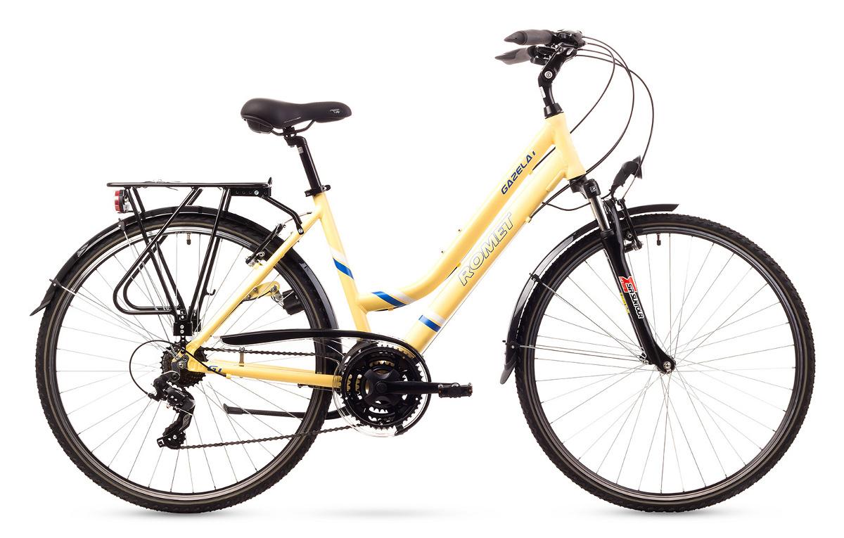 Rower ROMET  GAZELA 1  kremowy 17 S