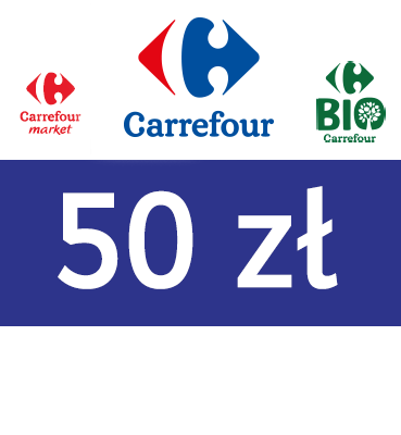 zdjęcie                      Elektroniczny BON Carrefour 50 PLN