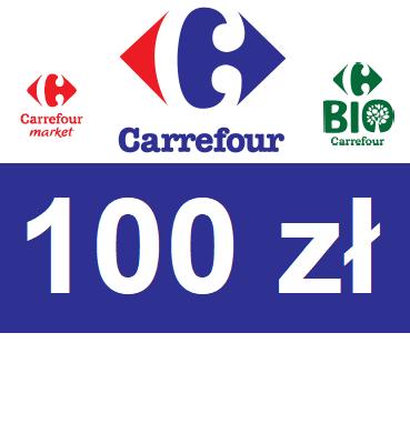 zdjęcie                      Elektroniczny BON Carrefour 100 PLN