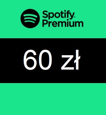 zdjęcie Spotify Premium PL 60 PLN