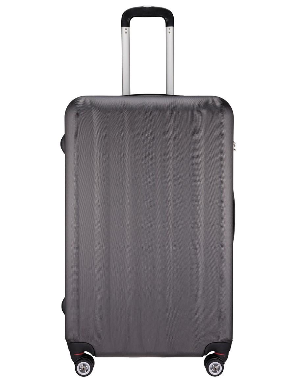 Cholewiński Duża walizka podróżna  PC Line CT866A, grafitowy