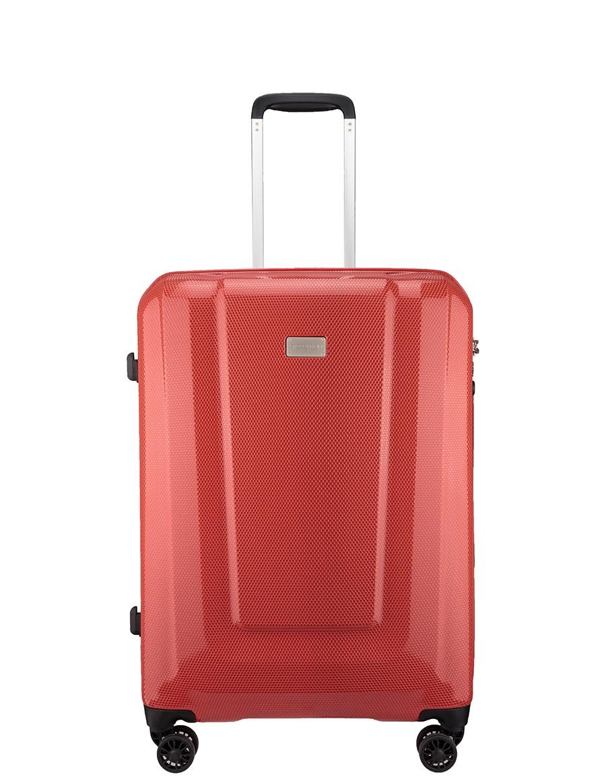Cholewiński Średnia walizka podróżna  Moon Lite PC112B, czerwony
