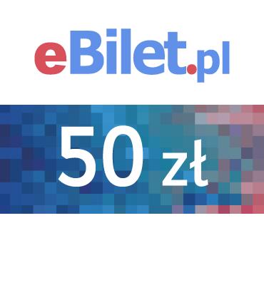 zdjęcie Voucher eBilet.pl 50 zł