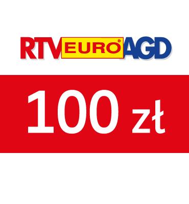 zdjęcie Karta Podarunkowa RTV EURO AGD 100 PLN