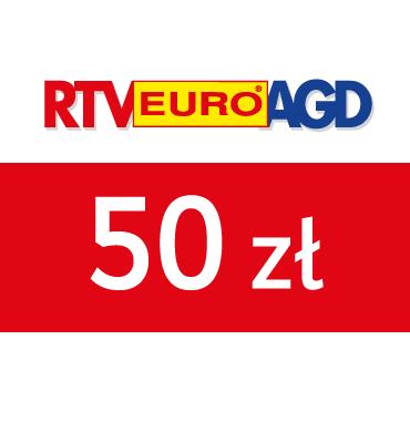 zdjęcie                      Karta Podarunkowa RTV EURO AGD 50 PLN