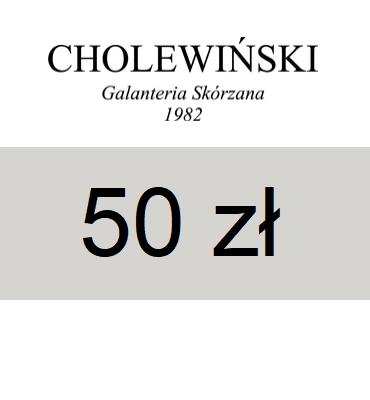 zdjęcie                      Elektroniczna karta upominkowa Cholewiński 50 zł