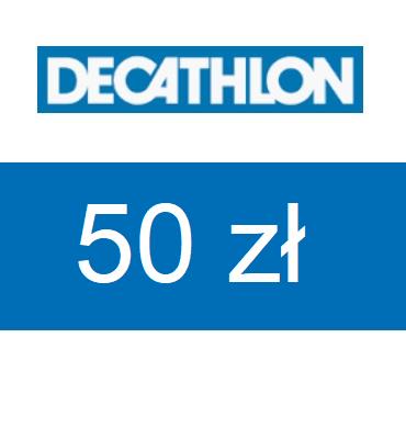 zdjęcie                      E-Karta Podarunkowa DECATHLON o wartości 50 zł