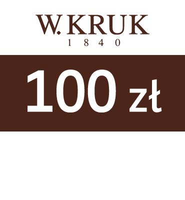 zdjęcie E-karnet Jubilerski W.KRUK  100zł