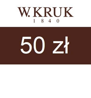 zdjęcie E-karnet Jubilerski W.KRUK 50zł