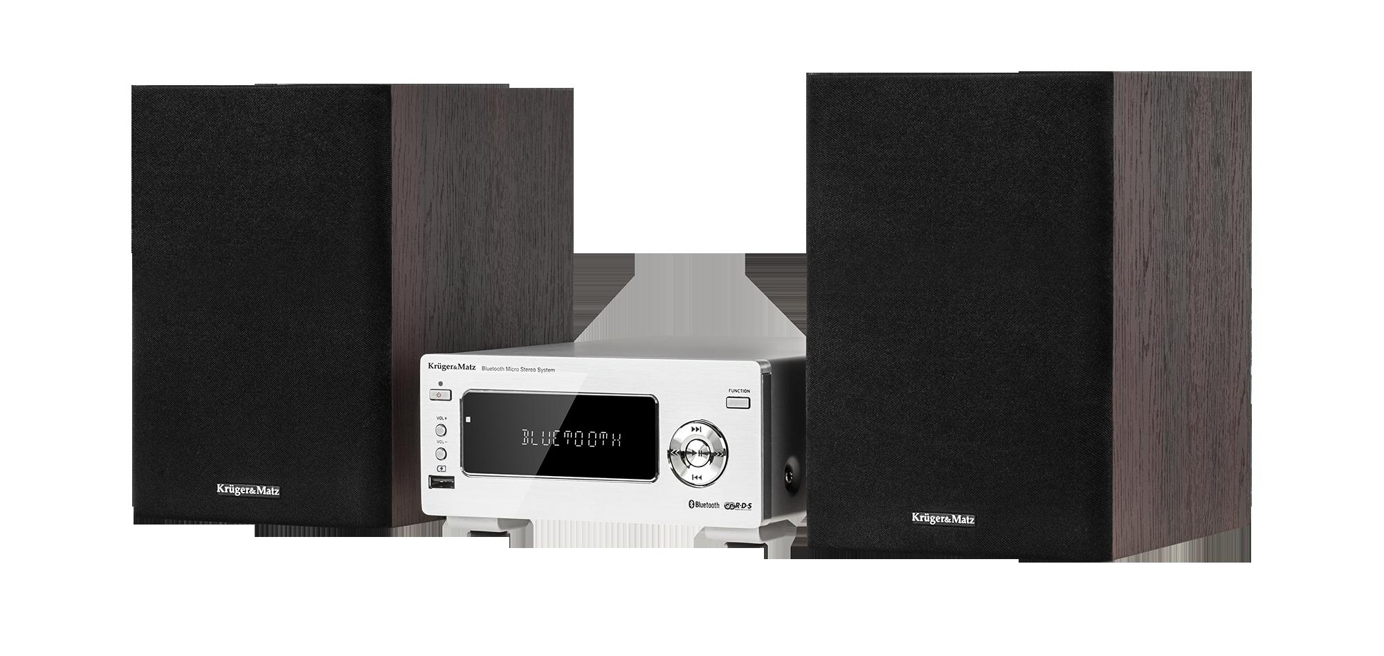 Miniwieża Kruger&Matz KM1663.1, Bluetooth i radiem FM