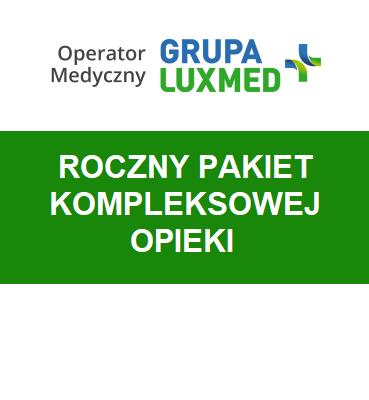 zdjęcie                      Pakiet indywidualny kompleksowy LUX MED