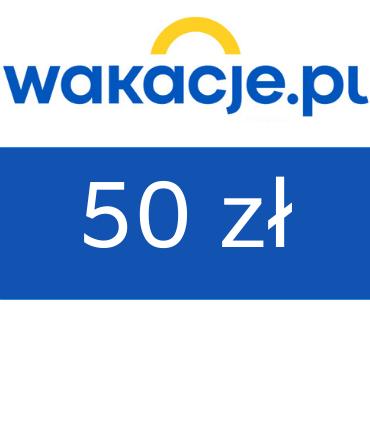 zdjęcie                      Bon wakacyjny do Wakacje.pl 50 zł