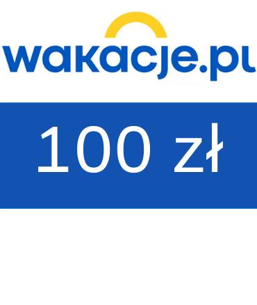 zdjęcie                      Bon wakacyjny do Wakacje.pl 100 zł