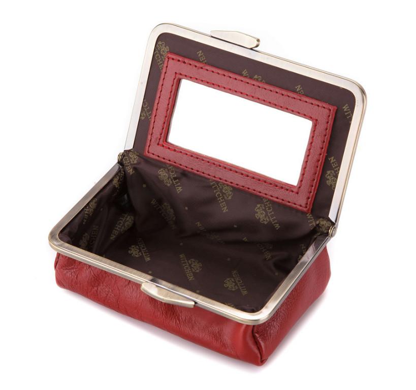 WITTCHEN Kosmetyczka czerwona skórzana ITALY 21-3-170-3