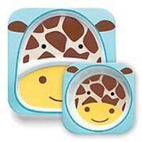 Zestaw jedzeniowy Zoo Żyrafa