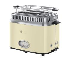 Russell Hobbs TOSTER RETRO VINTAGE CREAM...