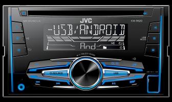 JVC KW-R520 Radio samochodowe CD USB AUX, 2...