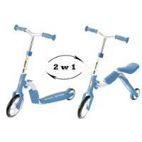 2w1 rowerek biegowy + hulajnoga 2IN1 MOTION...