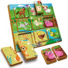 LUDATTICA WOOD -DUO PUZZLE THE FARM (FARMA)