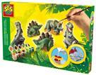 SES Dinozaury - odlewy gipsowe 3D